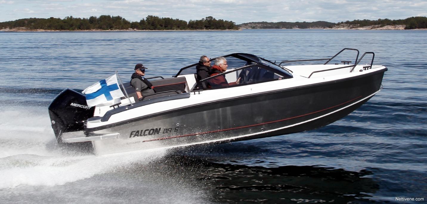 Moottorivene Falcon BR 8 + F300 Pro XS