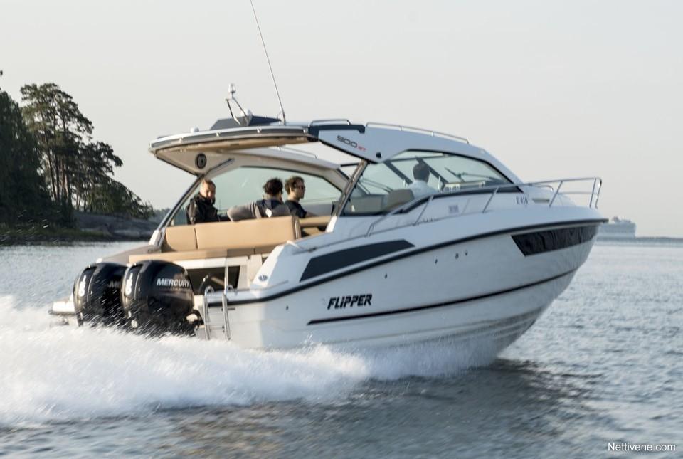 Moottorivene Flipper 900 ST + F225 x2