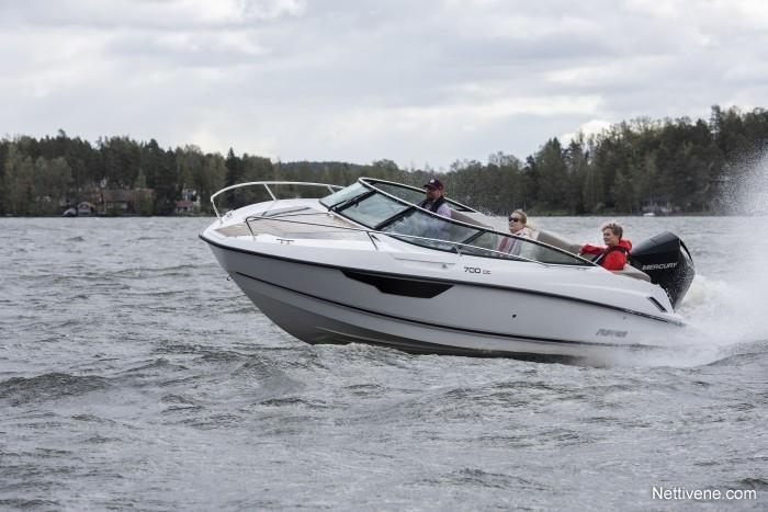 Moottorivene Flipper 700 DC + F150