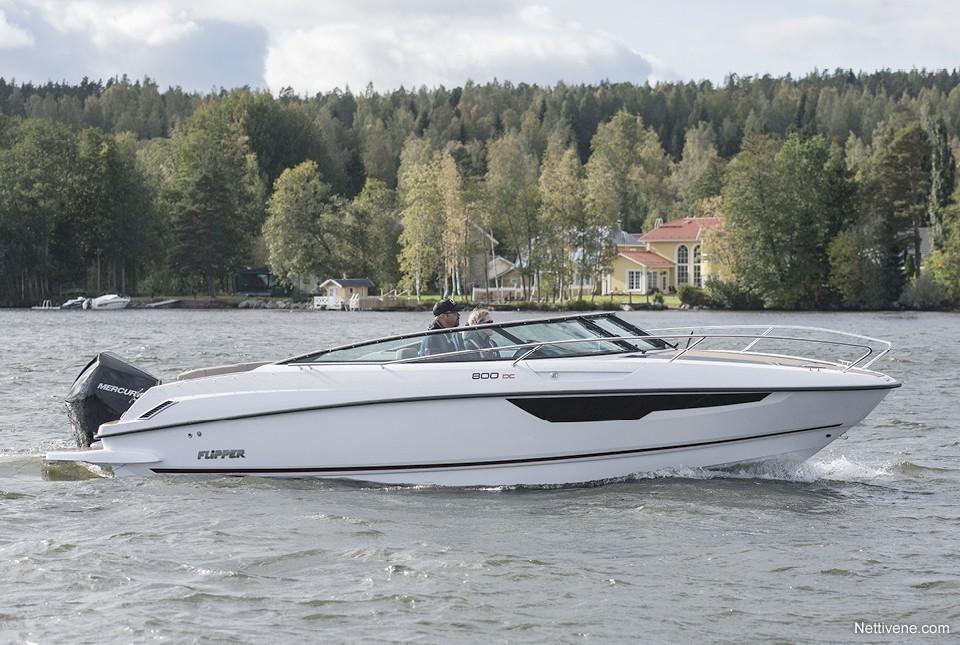 Moottorivene Flipper 800 DC + F250 Pro XS