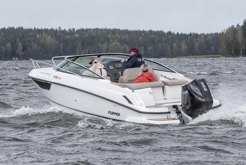 Moottorivene Flipper 700 DC + F250 Pro XS