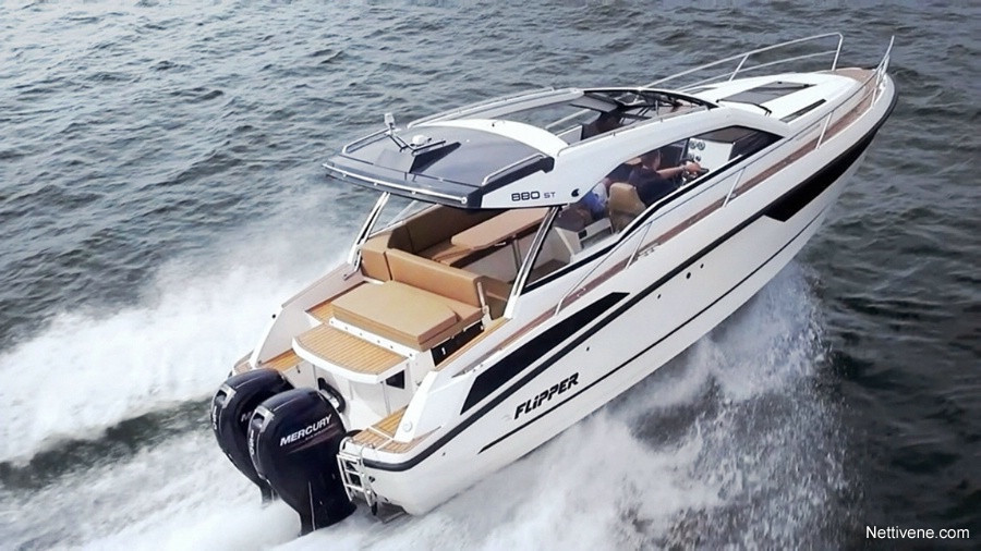 Moottorivene Flipper 900 ST + V250 x2
