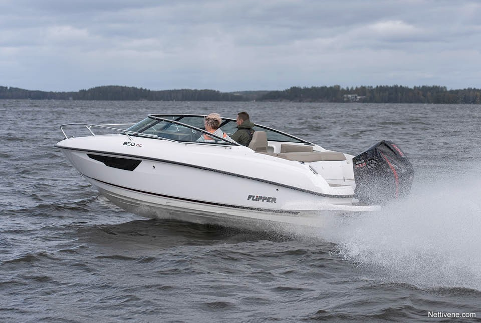 Moottorivene Flipper 650 DC + F200 Pro XS