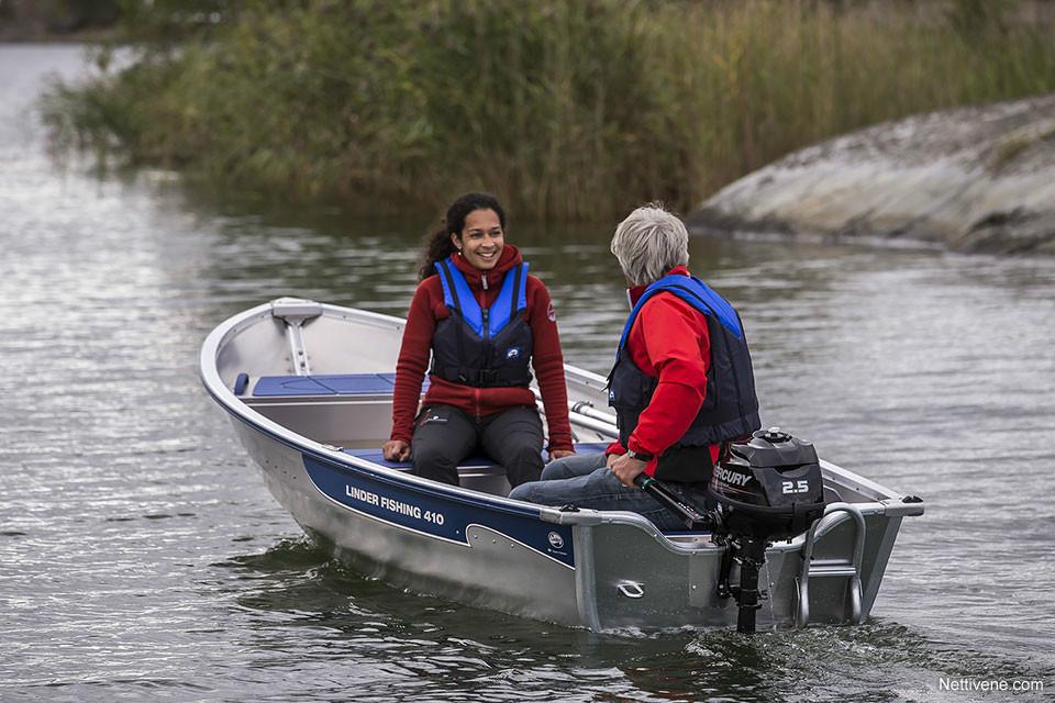 Moottorivene Linder 410 Fishing