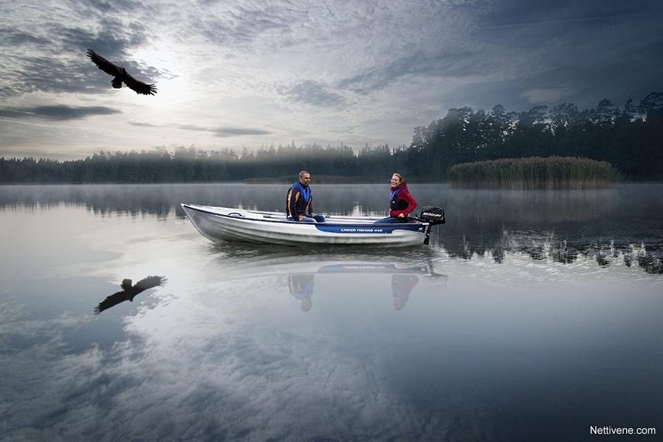 Moottorivene Linder 440 Fishing