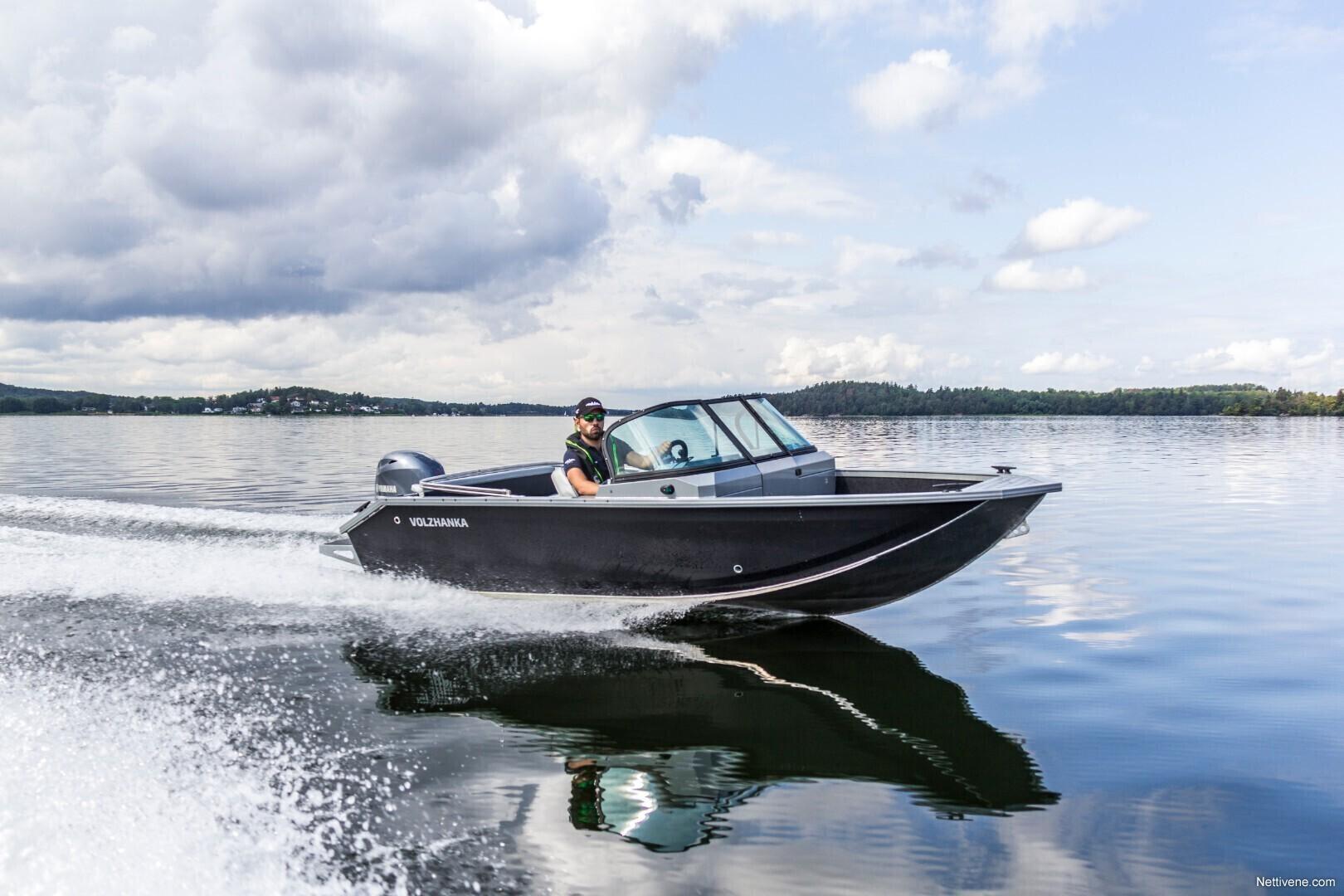 Moottorivene Vboats 46 Fish + F60 ENNAKKOTILAUS