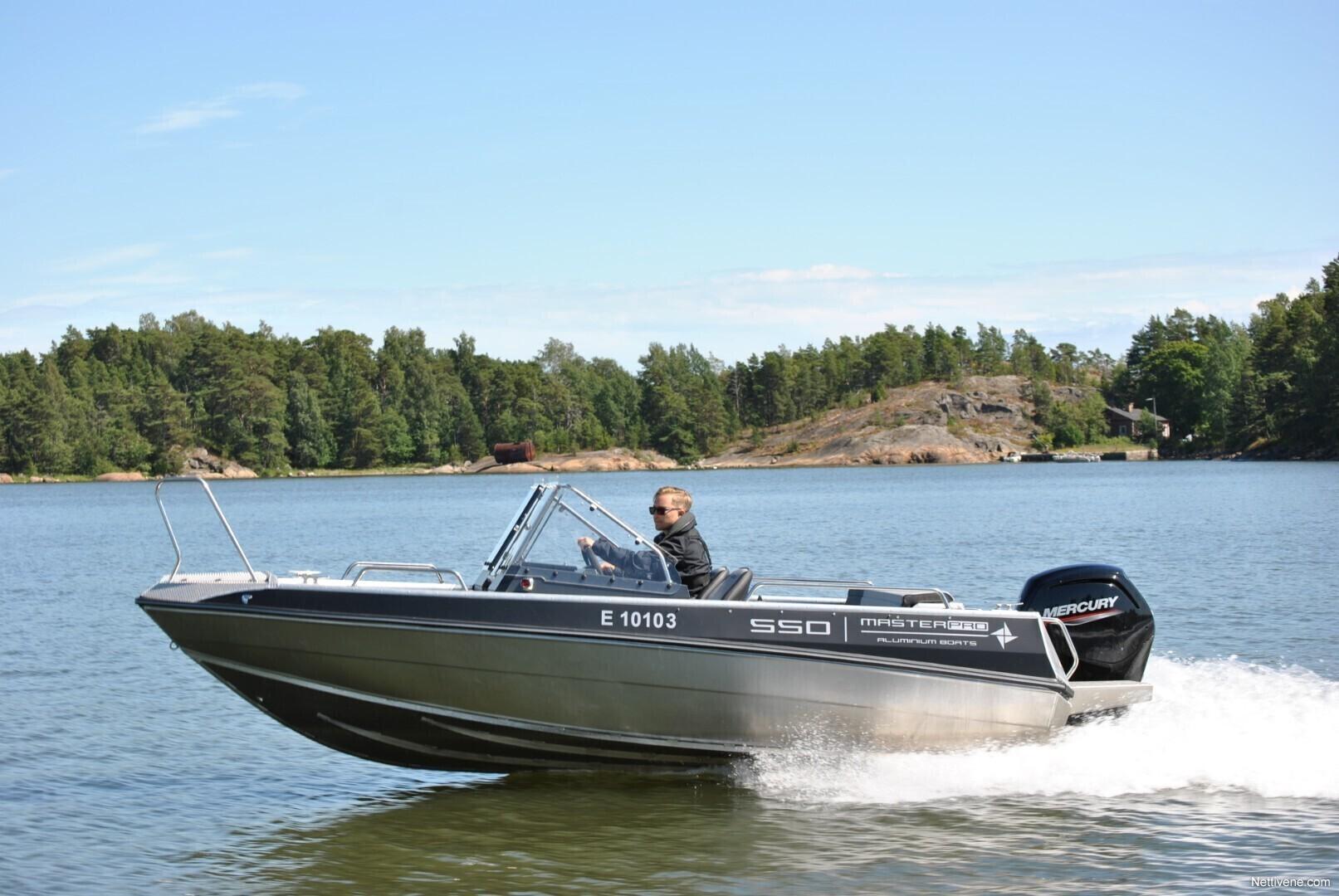 Moottorivene Master Pro 550 + F60CT