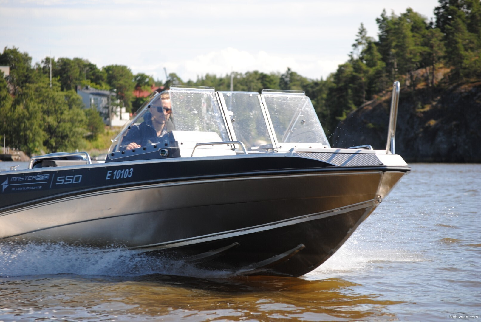 Moottorivene Master Pro 550 + F80